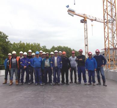 L'équipe travaux